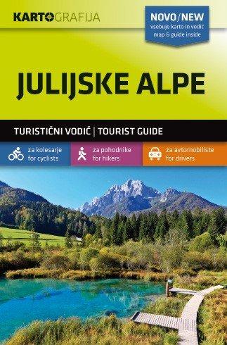 Julijske Alpe/Julische Alpen | wandelkaart 1:40.000 3830048522496  Kartografija   Wandelkaarten Slovenië