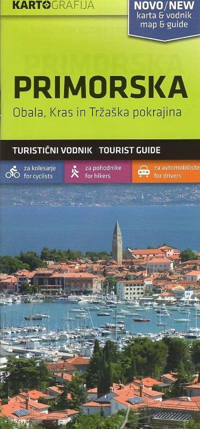Primorska | wandelkaart 1:40.000 3830048522571  Kartografija   Wandelkaarten Midden-Italië, Slovenië