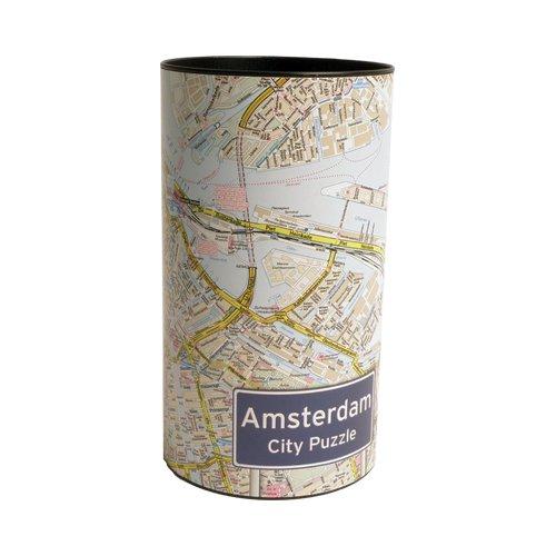 City Puzzle Amsterdam 4260153694075  Craenen City Puzzles  Wandkaarten Amsterdam