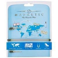 Mapnetic Magnetische Koelkast Wereldkaart 5060146590815  Luckies   Wandkaarten Wereld als geheel