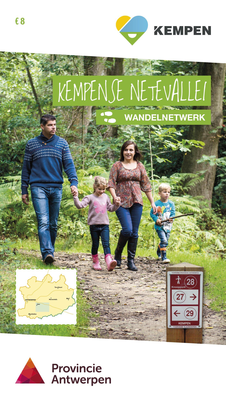 Kempense Netevallei wandelnetwerk + inspiratieboekje 5420032100779  Antwerpse Kempen   Wandelgidsen Vlaanderen & Brussel