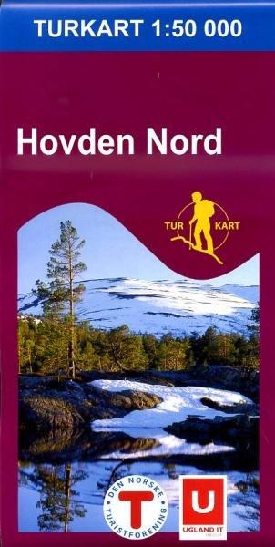 UG-2684  Hovden Nord | topografische wandelkaart 1:50.000 7046660026847  Nordeca / Ugland Turkart Norge 1:50.000  Wandelkaarten Zuid-Noorwegen