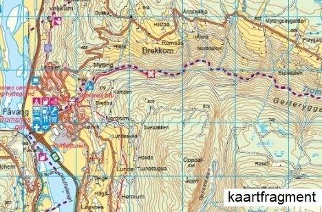 UG-2829 Dovrefjell - Snohetta | topografische wandelkaart 1:50.000 7046660028292  Nordeca / Ugland Turkart Norge 1:50.000  Wandelkaarten Noorwegen boven de Sognefjord