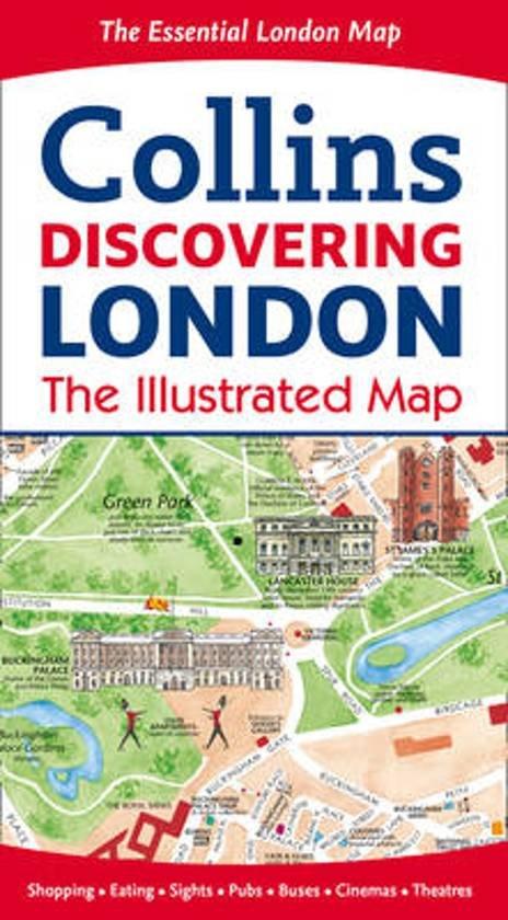 London Map 9780008104559  Collins   Stadsplattegronden Londen
