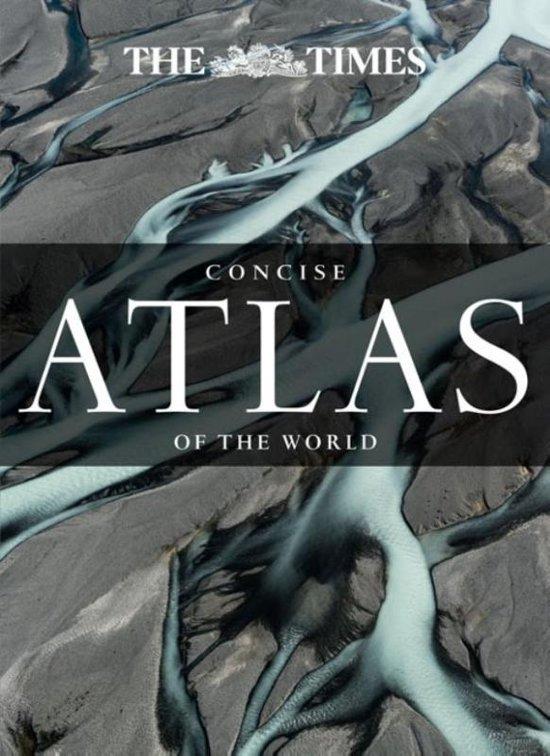 Concise atlas of the world (13e) 9780008183769  Times   Wegenatlassen Wereld als geheel