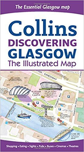 Glasgow, stadsplattegrond 9780008266912  Collins   Stadsplattegronden Glasgow