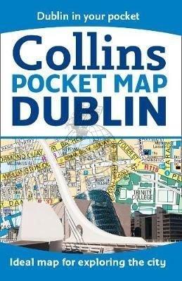 Dublin pocket map 9780008270827  Collins   Stadsplattegronden Ierland Noord- en Oost, Dublin