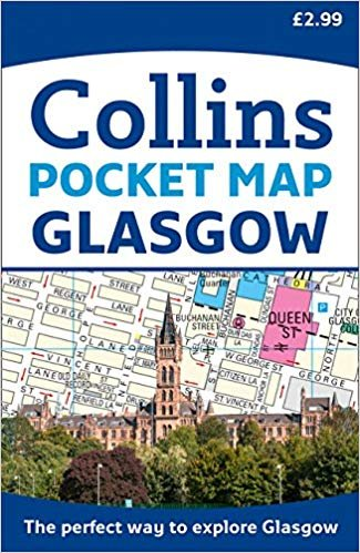 Glasgow Street Atlas Pocket Map 9780008285623  Collins   Stadsplattegronden Schotland