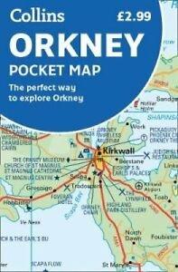 Orkney Pocket Map 9780008325473  Collins   Landkaarten en wegenkaarten Schotland
