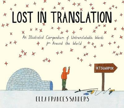 Lost in Translation 9780224100809 Ella Frances Sanders Vintage   Taalgidsen en Woordenboeken Wereld als geheel