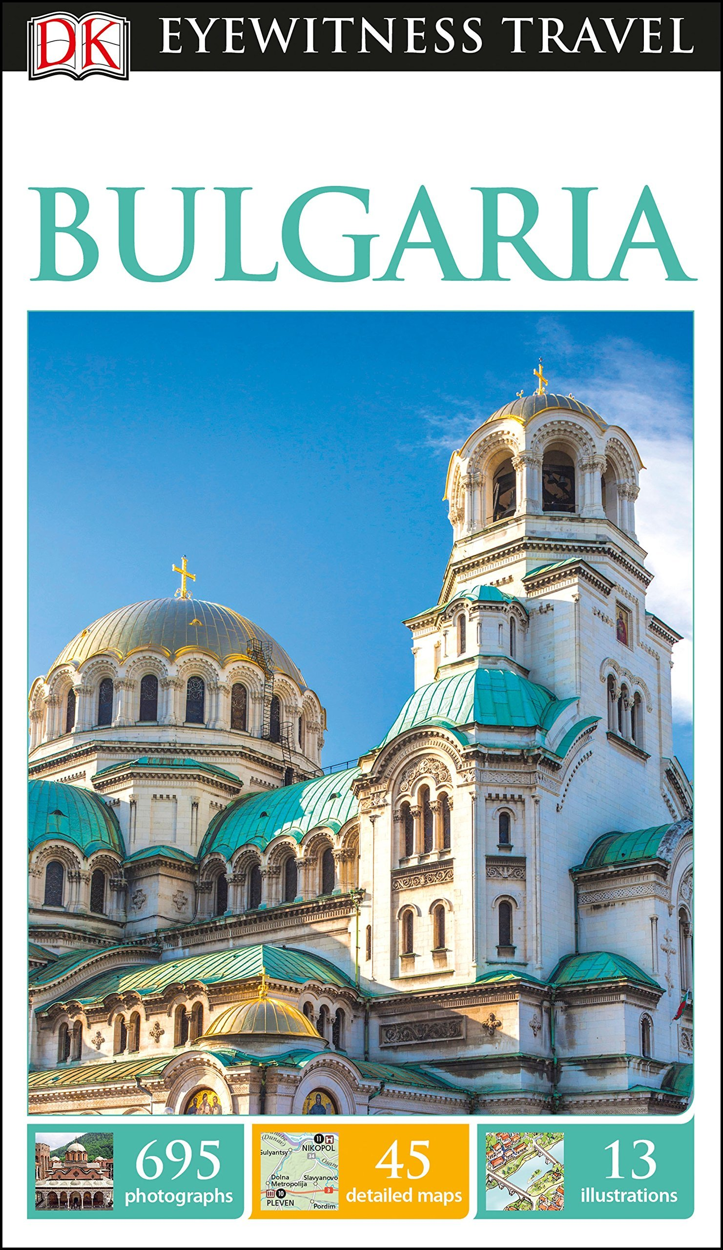 Bulgaria 9780241275429  Dorling Kindersley Eyewitness Guides  Reisgidsen Bulgarije