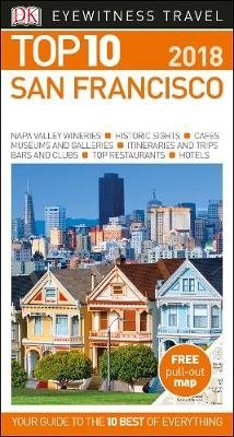 San Francisco 9780241277201  Dorling Kindersley Eyewitness Top 10 Guides  Reisgidsen California, Nevada