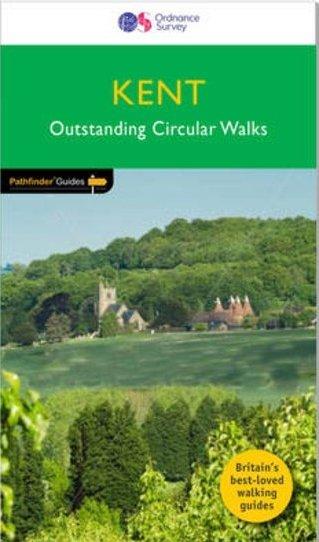 PG-08  Kent Walks | wandelgids 9780319090183  Crimson Publishing / Ordnance Survey Pathfinder Guides  Wandelgidsen Zuidoost-Engeland