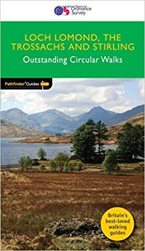 PG-23  Loch Lomond + the Trossachs Walks | wandelgids 9780319090190  Crimson Publishing / Ordnance Survey Pathfinder Guides  Wandelgidsen Schotland