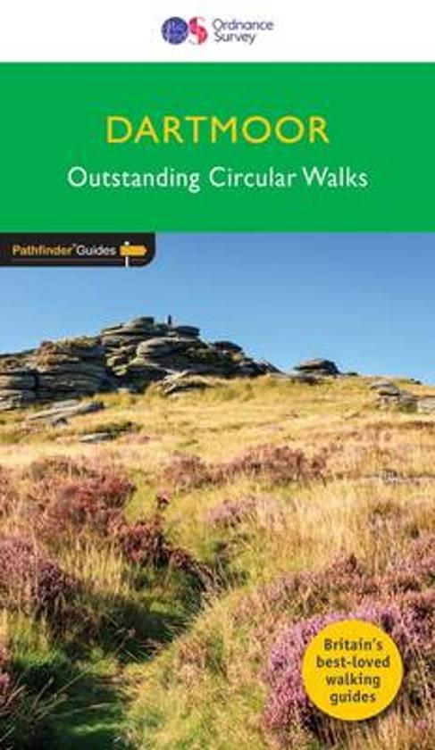 PG-26  Dartmoor Walks | wandelgids 9780319090305  Crimson Publishing / Ordnance Survey Pathfinder Guides  Wandelgidsen Zuidwest-Engeland