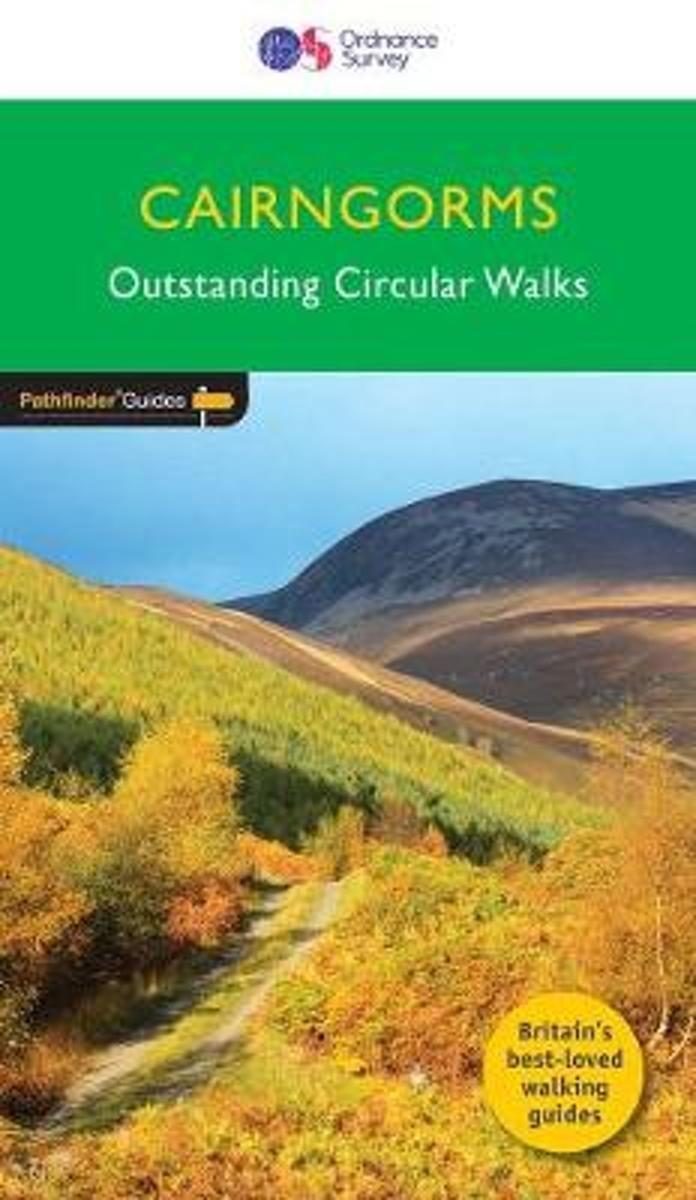 PG-04  Cairngorms | wandelgids 9780319090398  Crimson Publishing / Ordnance Survey Pathfinder Guides  Wandelgidsen de Schotse Hooglanden (ten noorden van Glasgow / Edinburgh)