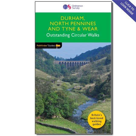 PG-39  Durham, North Pennines, Tyne + Wear | wandelgids 9780319090411  Crimson Publishing / Ordnance Survey Pathfinder Guides  Wandelgidsen Noord-Engeland