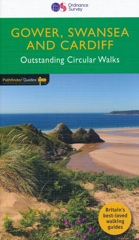 PG-55  Cardiff Swansea Gower | wandelgids 9780319090749  Crimson Publishing / Ordnance Survey Pathfinder Guides  Wandelgidsen Zuid-Wales, Pembrokeshire, Brecon Beacons