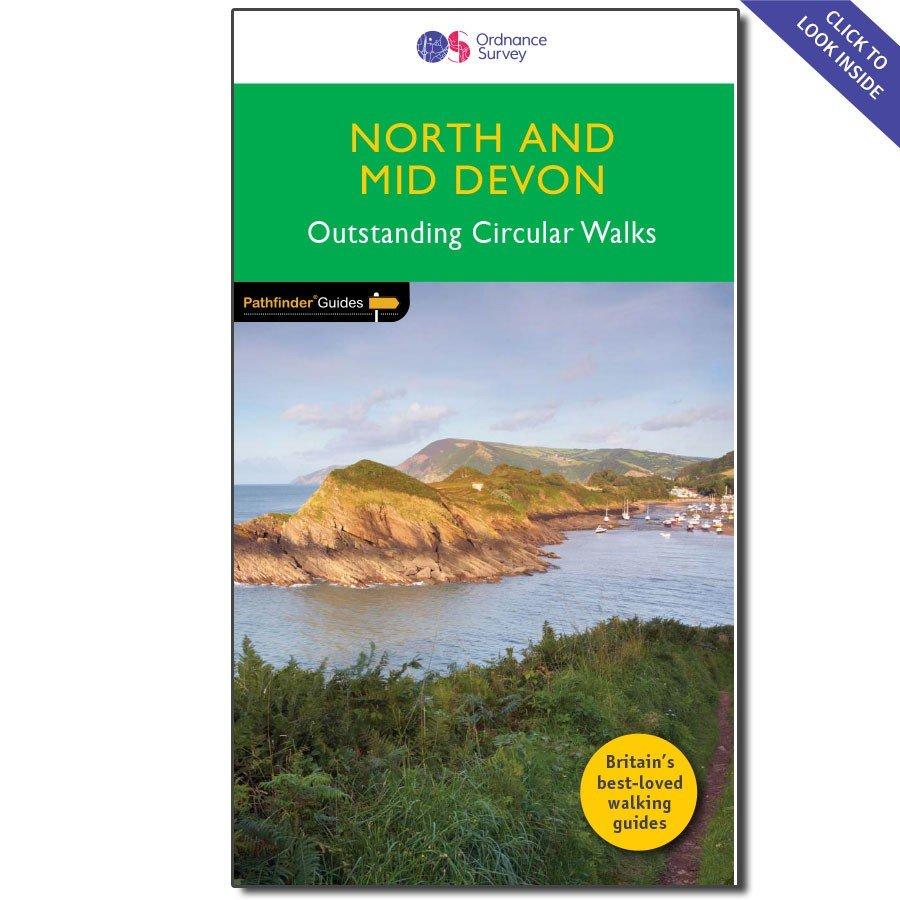PG-68 North & Mid Devon | wandelgids 9780319090756  Crimson Publishing / Ordnance Survey Pathfinder Guides  Wandelgidsen Zuidwest-Engeland