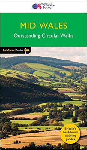 PG-44   Mid Wales + the Marches | wandelgids 9780319090879  Crimson Publishing / Ordnance Survey Pathfinder Guides  Wandelgidsen Wales
