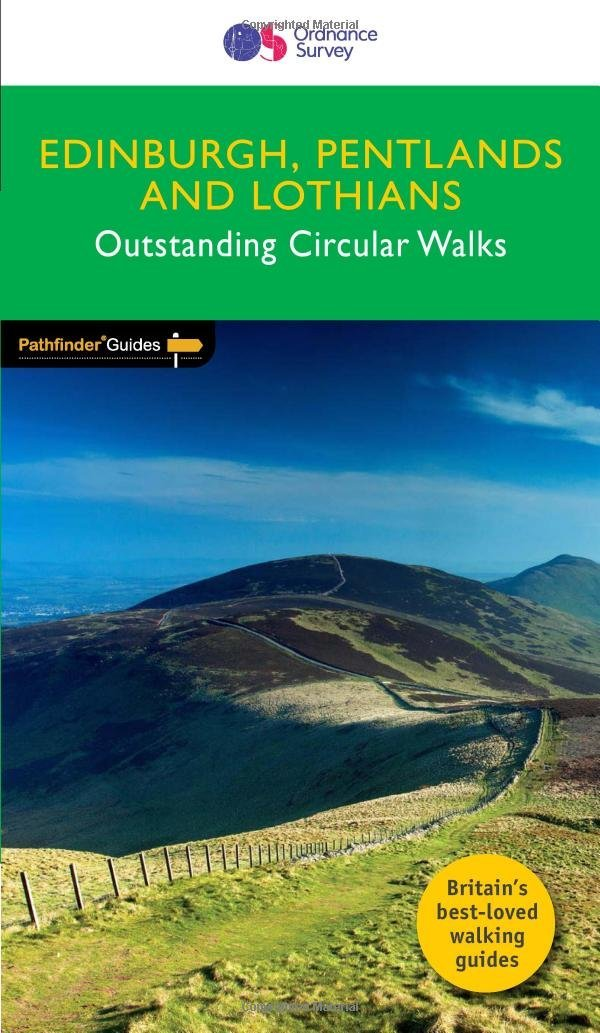 PG-47  Edinburgh and Lothians | wandelgids 9780319091197  Crimson Publishing / Ordnance Survey Pathfinder Guides  Wandelgidsen Edinburgh