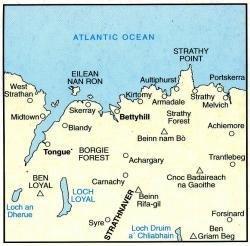 LR-010  Strathnever   topografische wandelkaart 9780319226100  Ordnance Survey Landranger Maps 1:50.000  Wandelkaarten de Schotse Hooglanden (ten noorden van Glasgow / Edinburgh)