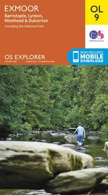 EXP-009  Exmoor  OL9 | wandelkaart 1:25.000 9780319242483  Ordnance Survey Explorer Maps 1:25t.  Wandelkaarten Zuidwest-Engeland