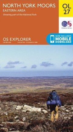 EXP-027 North York Moors - Eastern area  OL27   wandelkaart 1:25.000 9780319242667  Ordnance Survey Explorer Maps 1:25t.  Wandelkaarten Northumberland, Yorkshire Dales & Moors, Peak District, Isle of Man