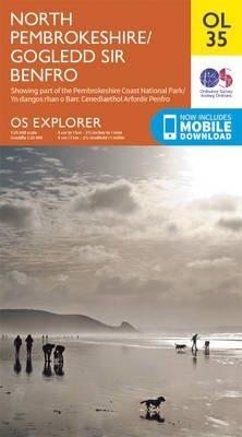 EXP-035  North Pembrokeshire  OL35 | wandelkaart 1:25.000 9780319242742  Ordnance Survey Explorer Maps 1:25t.  Wandelkaarten Zuid-Wales, Pembrokeshire, Brecon Beacons