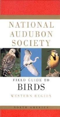 Field Guide N.Am.Birds: Western Region 9780679428510 Udvardy Knopf Nat. Audubon Soc.  Natuurgidsen, Vogelboeken VS-West, Rocky Mountains
