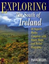 Exploring the South of Ireland 9780706375664 Dillon Ward Lock   Wandelgidsen Ierland