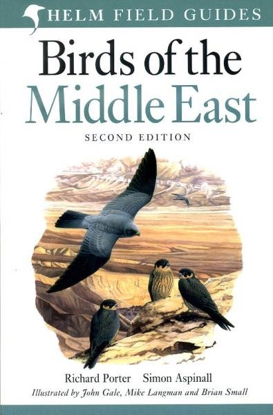 Field Guide to the Birds of the Middle East 9780713676020 Porter Academic Press   Natuurgidsen Midden-Oosten
