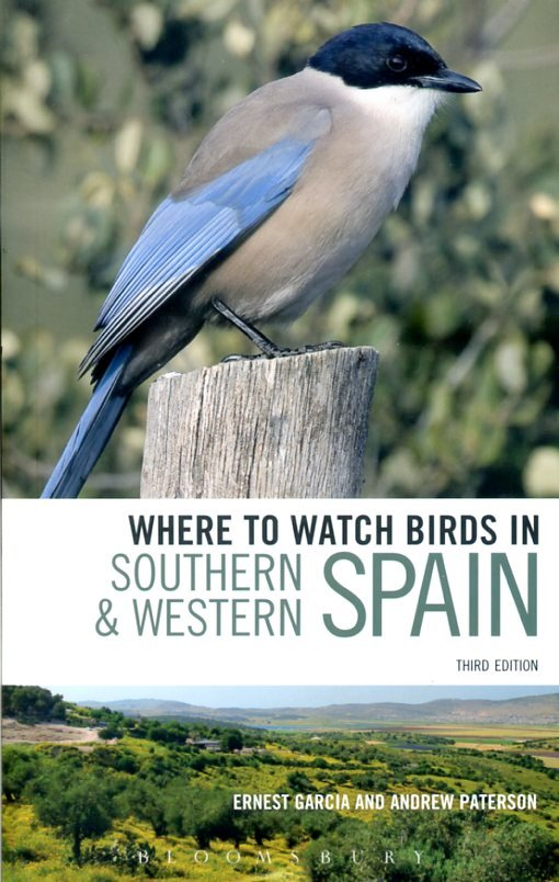 In Southern en Western Spain 9780713683158  Christopher Helm Where to watch birds  Natuurgidsen Spanje
