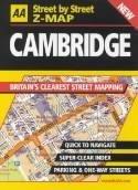 Cambridge - street-by-street 9780749531225  AA Street-by-street  Stadsplattegronden Midden- en Oost-Engeland