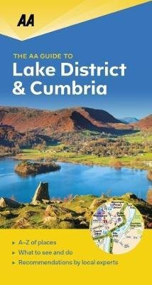 Lake District & Cumbria - leisure guide 9780749579432  AA Leisure Guides  Reisgidsen Northumberland, Yorkshire Dales & Moors, Peak District, Isle of Man