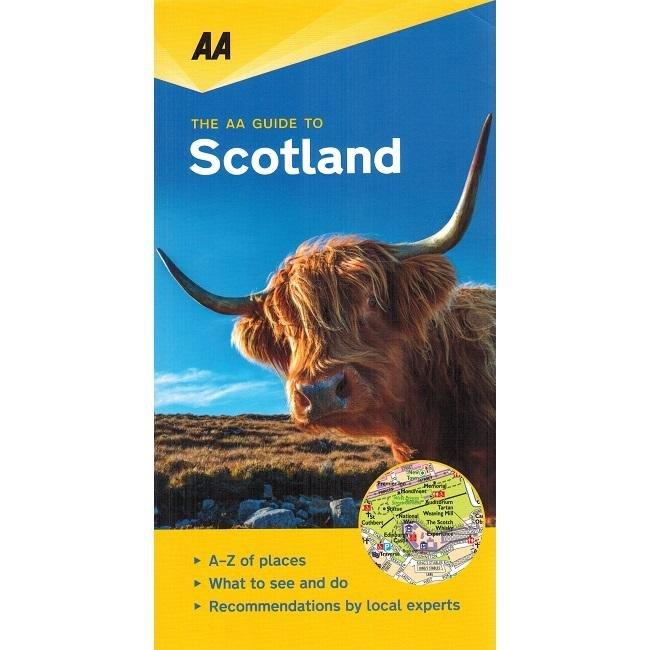 Scotland - leisure guide 9780749579463  AA Leisure Guides  Reisgidsen Schotland