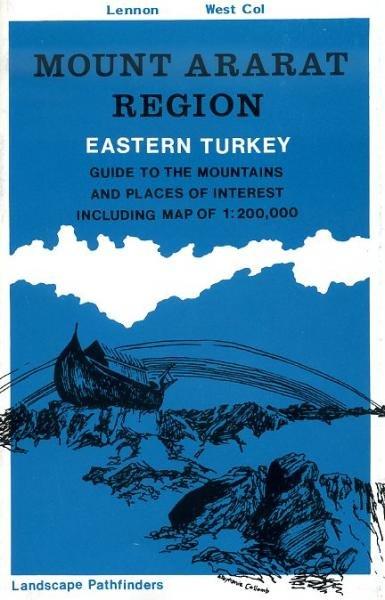 Mount Ararat Region - Eastern Turkey 9780906227367  West Col   Wandelkaarten Turkse Riviera, overig Turkije