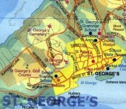 Bermuda | wandelkaart, autokaart 1:25.000 9780921463603  ITM   Landkaarten en wegenkaarten Overig Caribisch gebied