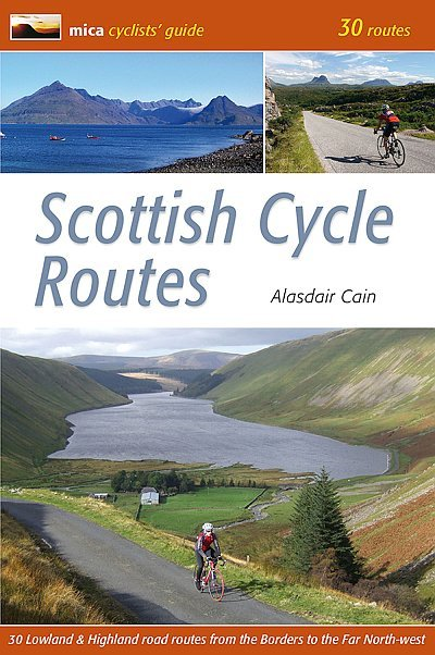 Scottish Cycle Routes 9780956036773  Mica Publishing   Fietsgidsen Schotland