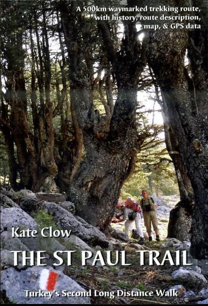 St.Paul Trail 9780957154711 Kate Clow,Terry Richardson Upcountry   Meerdaagse wandelroutes, Wandelgidsen Turkse Riviera, overig Turkije