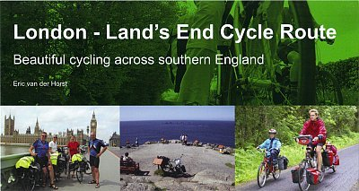 London - Land's End Cycle Route 9780957661707 Eric van der Horst Eos Cycling Holidays Ltd   Fietsgidsen, Meerdaagse fietsvakanties Groot-Brittannië