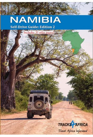 Namibia Self-Drive Guide tracks | reisgids/accommodatiegids 9780992183059  Tracks4Africa   Campinggidsen, Reisgidsen Botswana, Namibië