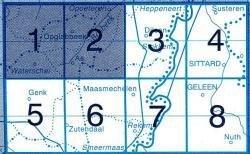 NGI-26/1-2 9781129301445  NGI Belgie 1:20.000/25.000  Wandelkaarten Vlaanderen & Brussel