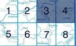 NGI-48/3-4  Huy-Nandrin 9781129302312  NGI Belgie 1:20.000/25.000  Wandelkaarten Wallonië (Ardennen)