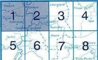 NGI-49/1-2  Anthisnes, Comblain-au-Pont | topografische wandelkaart 1:20.000 9781129302343  NGI Belgie 1:20.000/25.000  Wandelkaarten Wallonië (Ardennen)