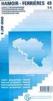 NGI-49/5-6  Hamoir-Ferrières | topografische wandelkaart 1:20.000 9781129302367  NGI Belgie 1:20.000/25.000  Wandelkaarten Wallonië (Ardennen)