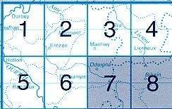 NGI-55/7-8  Odeigne-Bihain 9781129302657  NGI Belgie 1:20.000/25.000  Wandelkaarten Wallonië (Ardennen)