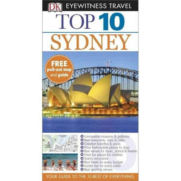 Eyewitness Top 10 Sydney 9781409370499  Dorling Kindersley Eyewitness Top 10  Reisgidsen Australië
