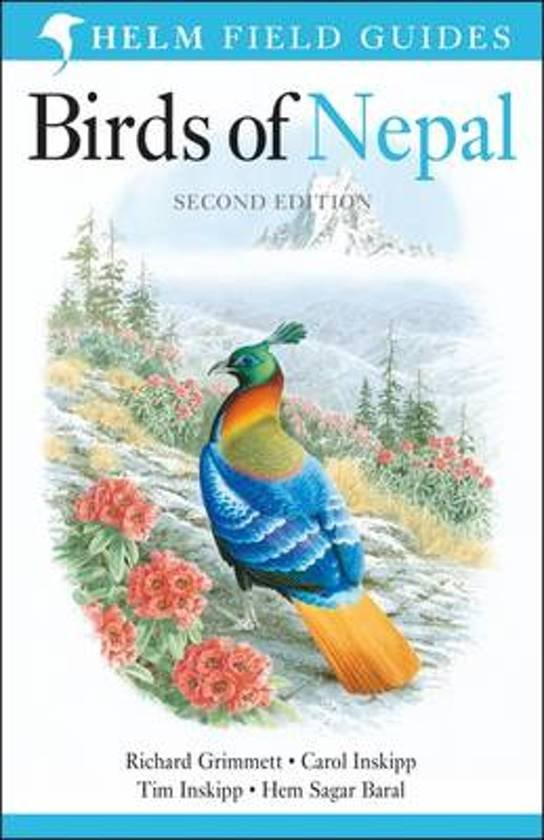 Field Guide to the Birds Of Nepal 9781472905710 Grimmett Christopher Helm Field Guides  Natuurgidsen Nepal