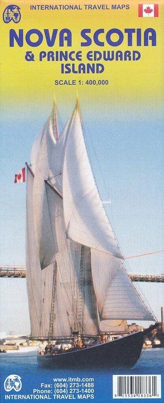 Nova Scotia | landkaart, autokaart 1:400.000 * 9781553412359  ITM   Landkaarten en wegenkaarten Canada ten oosten van de Rockies